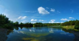 Lake Panorama by IndependentlyConceal