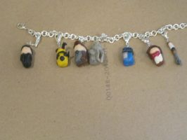 Doctor Who Charm Bracelet by lost-in-wonderlandd