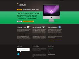 Web App, Portfolio Template by jamesmtb
