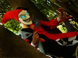 Shaco Cosplay Grupo League of Legends Chile by RosseSinner