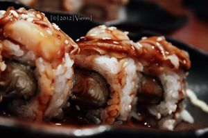 Ni Hotate Unagi Roll by viennidemizerable