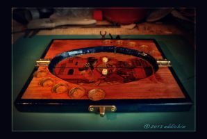 Dice Poker game after The Witcher by addichim
