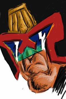 Quick Dredd: iPhone by JimCampbell