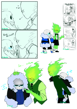 Sansby Sketch Collection by PC-Doodle