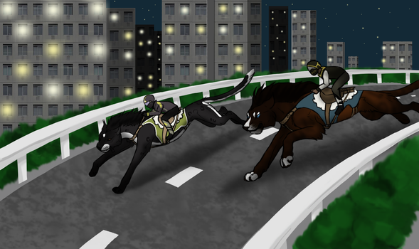 Highway Race - PBT by ZinoLair