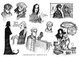 Harry Potter - pencil sketches by Eis-Blasich