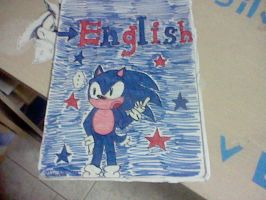 My English Exercise Book ..... Drawn By Meeee by Silver-chan2000