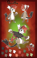 Poinsettia the Bagbean - refsheet by StanHoneyThief