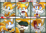 Character Abuse Meme - Miles Tails Prower by VagabondWolves