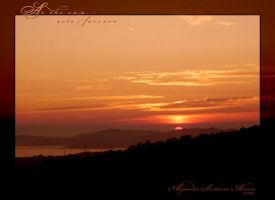 As the sun... sets forever by Sagawa