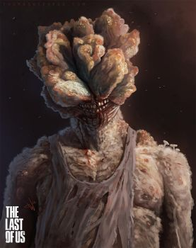 the Last of Us - Clicker by thomaswievegg