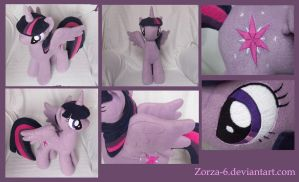 Twilight sparkle alicorn details by Zorza-6