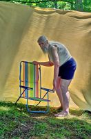 2015-06-10 Beach Chair Poses 40 by skydancer-stock