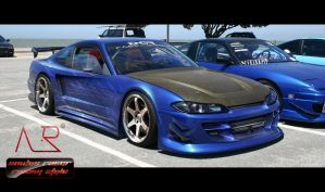 nissan silvia by anubis-racer