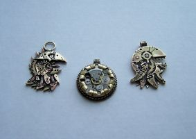 Clockpunk pendants 3 by Astalo