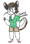Charlie The Chinchilla by BoneHatter