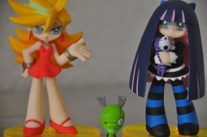 Figurine - Panty and Stocking by Yukinoo