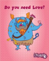 Valentine's Monster by ExtremelyShane