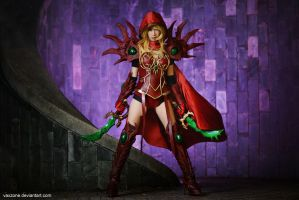 Warcraft - Valeera Sanguinar by vaxzone