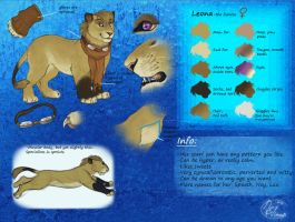 Leo Reference sheet 2011 by LeoNoy