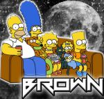 Os Simpsons para a guilda Brown by yvislohan
