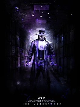 The Undertaker Poster by WeeDyZz