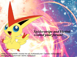 Victini by Howling-Wolf1