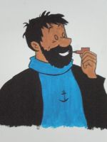 captain haddock by paula5