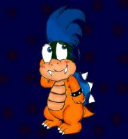 Larry Koopa by foxgirlKira