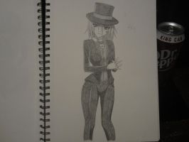 Genderbend Papagrande (Requested) by XxSgtCampbell