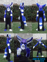 Cloud fennec partial by Monoyasha