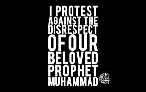 protest poster (Muhammad SAW) by musanajam11