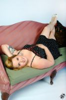 Pin Up Couch by ToxicRoachPhoto