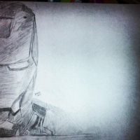 Iron Man Sketch by DoodleGeek4Ever