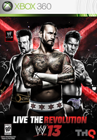 WWE 13 Cover Updated by SoulRiderGFX