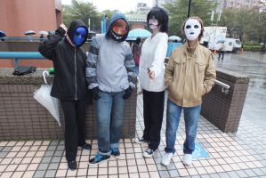 Taiwan CWT35 Creepypasta cosplay by DeluCat