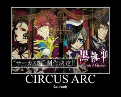 Black Bulter: Book of Circus [Links Below] by Onikage108