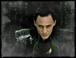 Loki - the god of chaos by Fenevad