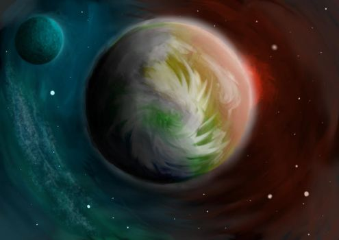 Planet Divided by Nuujy2