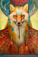 Wise Fox by Foxfires