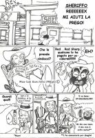 Rex Ryder l'implacabile episodio 2 pag1 by Maxmilian1983