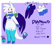 Dia Ref (OLD) by CosmicDiamond