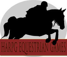 HARPG Equestrian Games - Showjumping Logo by WB-Equine-Art