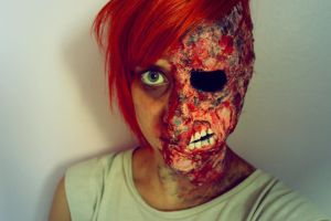 Two face? by Amythealien