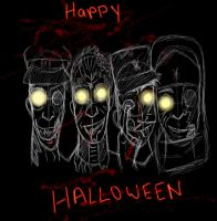 Happy Late Halloween by x-BlueYani-x