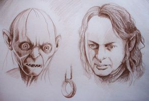 My Own, My Love, My Precious by phantomphreaq