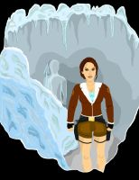 TR2 Gold: Iceman Encounter by TombRaiderKuchen