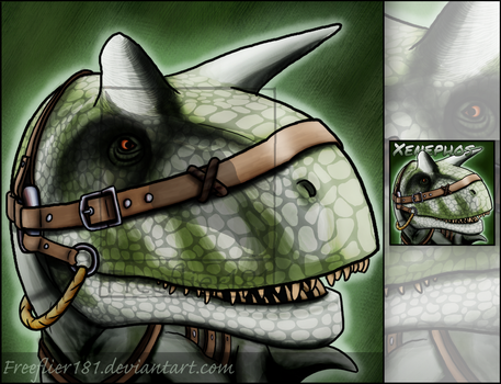 Xenephos Carno Icon -- ARK by Freeflier181