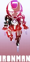 Iron man by 5aXoR