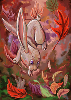 Rabbit of the leaves by RSA91